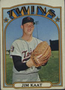 1972 Topps Baseball Cards      709     Jim Kaat